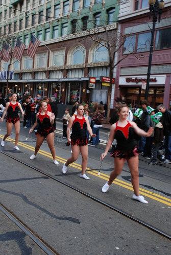 Cheerleaders?