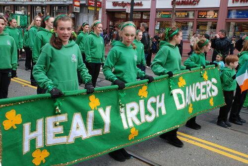 Танцоры ирландских танцев