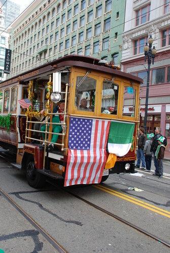 Автобус в стиле Cable car