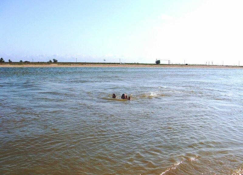 В живых водах пролива ... SDC14807.JPG