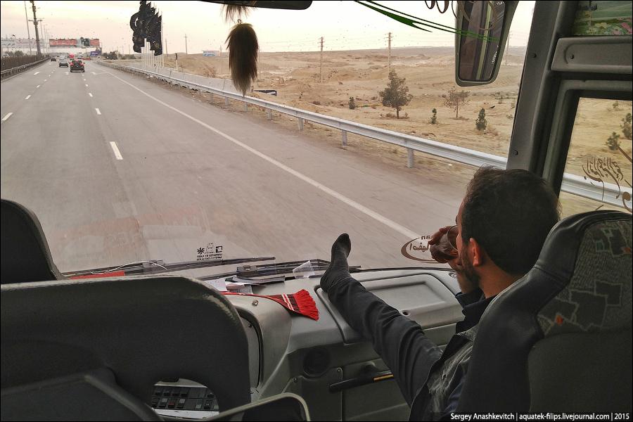 Иранские автобус