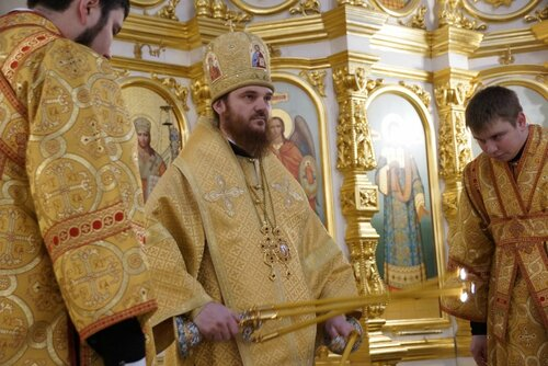 день тезоименитства митрополита Ижевского и Удмуртского Викторина