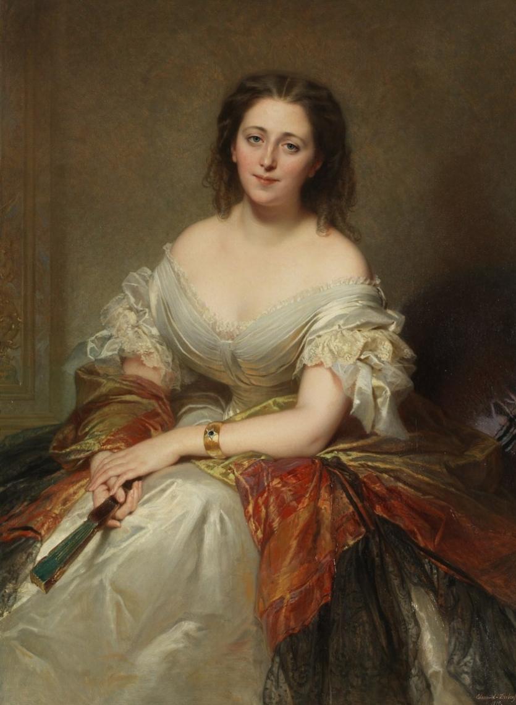 Comtesse Colonna Walewska, née Marianna Ricci (1823—1912)