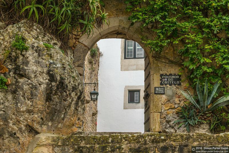 Замок Обидуш. Португалия