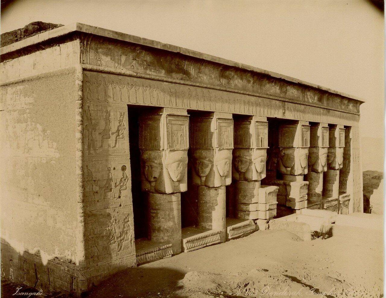 1880-е.  Храм Хатхор