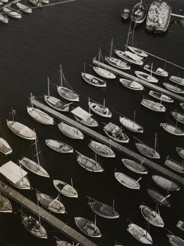 1938. Марсель.  мост Трансбордёр