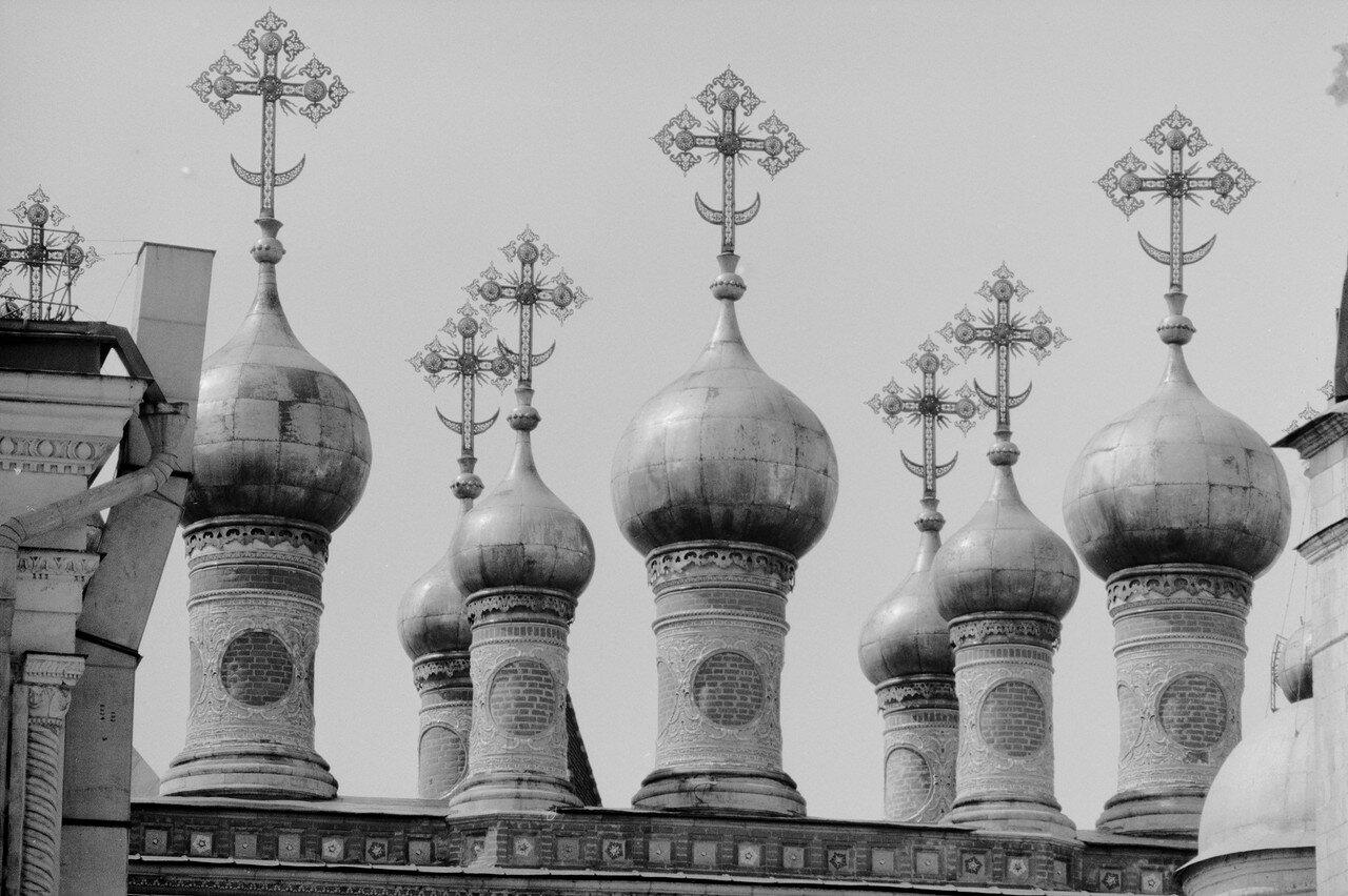 Купола Верхоспасского собора