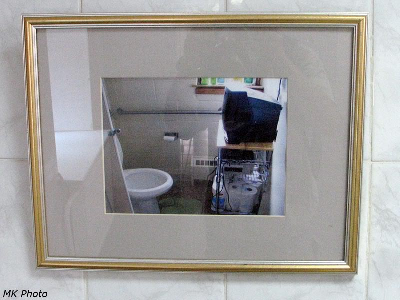 Картинка в туалете