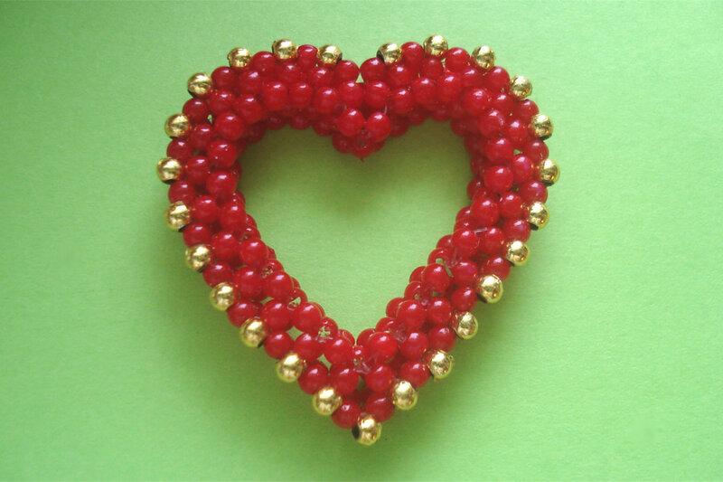 Разделы.  Автор: Admin Дата: 27.10.2013 Описание: Плетение сердечка из бисера для брелока - Веселый Жираф.
