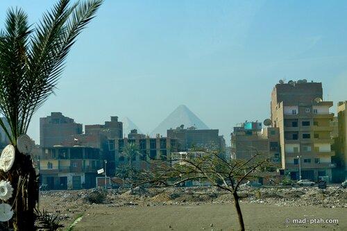 каир, египет, пирамиды