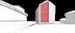 жилой дом коттедж сарай, на приусадебном участке, строительство домов,