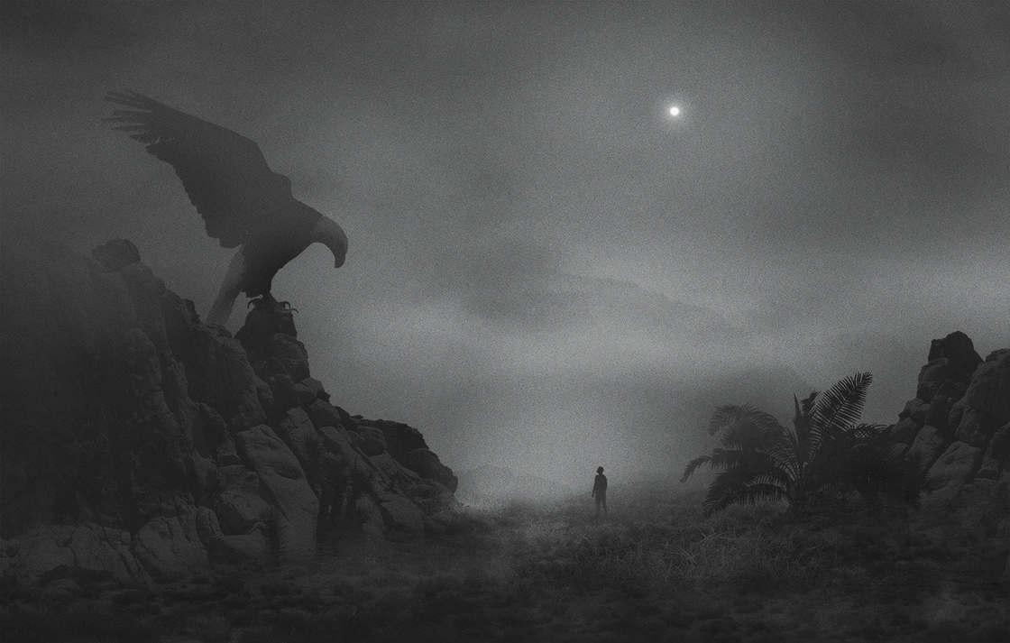 Il combat sa depression avec des illustrations sombres et envoutantes