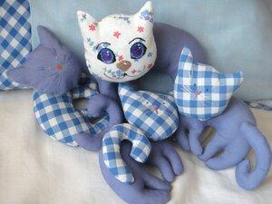 Подушка с котятами 2