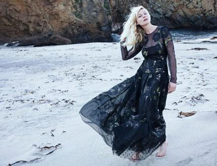 Kirsten Dunst / Кирстен Данст, фотограф Елена Емчук в журнале Vogue Italia, февраль 2012