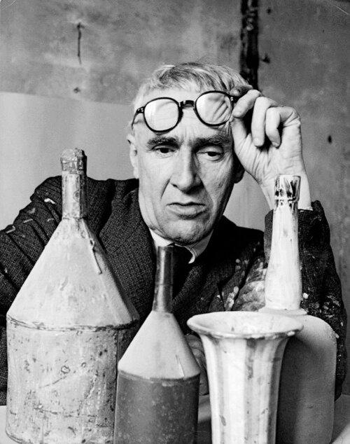 Giorgio Morandi.Herbert List, 1953.
