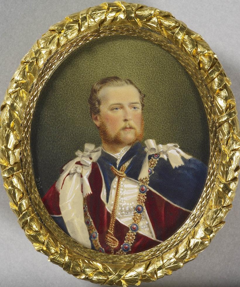 Дэвид Моссман (1825-1906)Принц Луи Гессен (1837-1892), позже Людовик IV, великий герцог Гессен и Рейн  1865