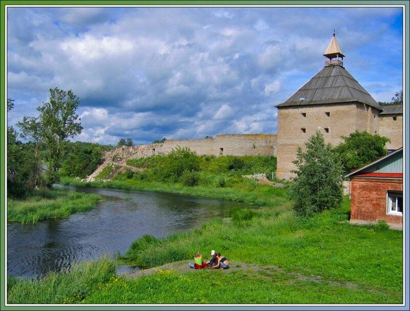 Крепостная стена, Старая Ладога