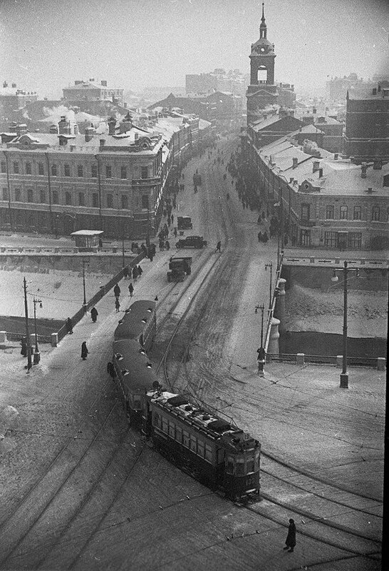 Начало Пятницкой улицы, 1934.