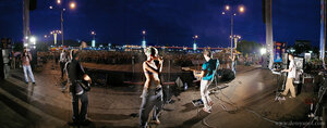 город, Чебоксары, праздник, ночь, панорама
