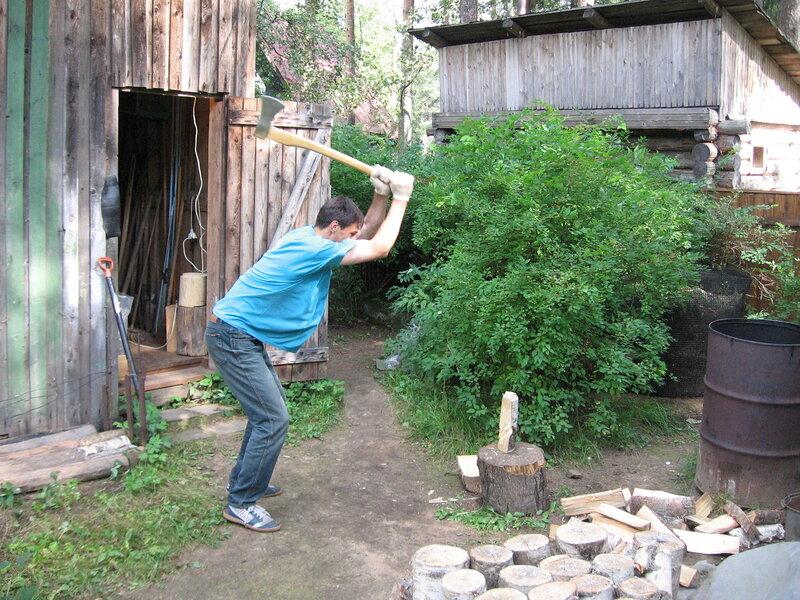 Бесплатно наруби дрова старушке