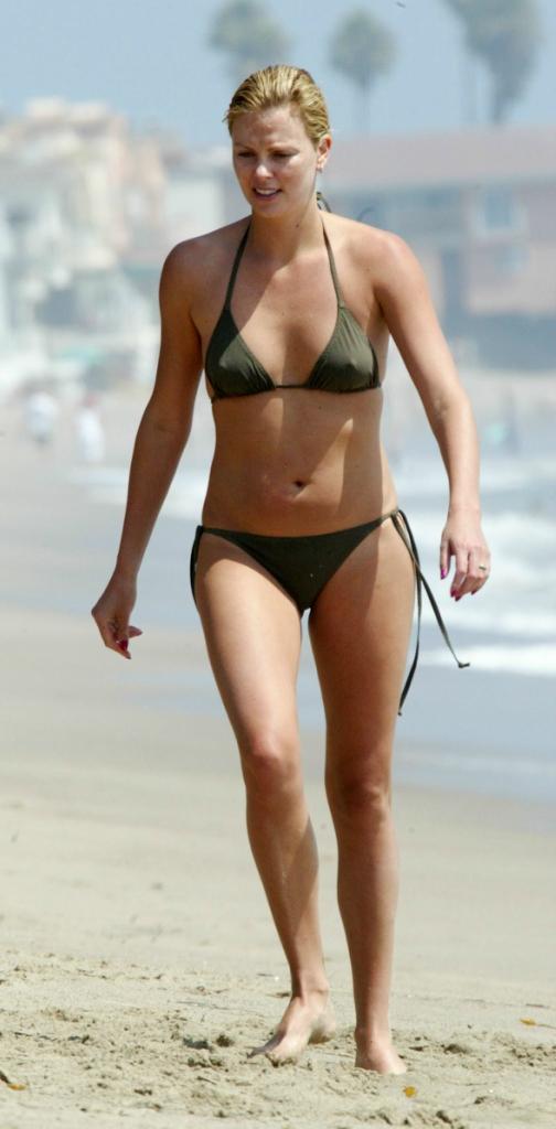 Charlize Theron Shows Off Her Bikini
