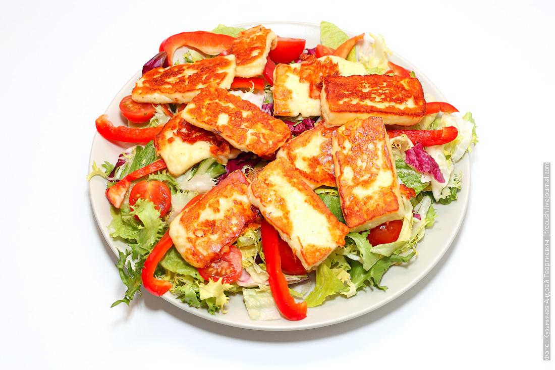 рецепт блюда жареный сыр Сернурский халумис