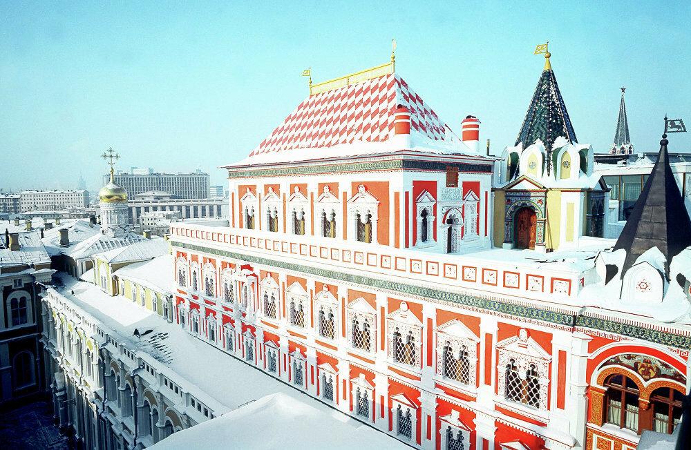 теремной дворец московского кремля 17 век фото живу