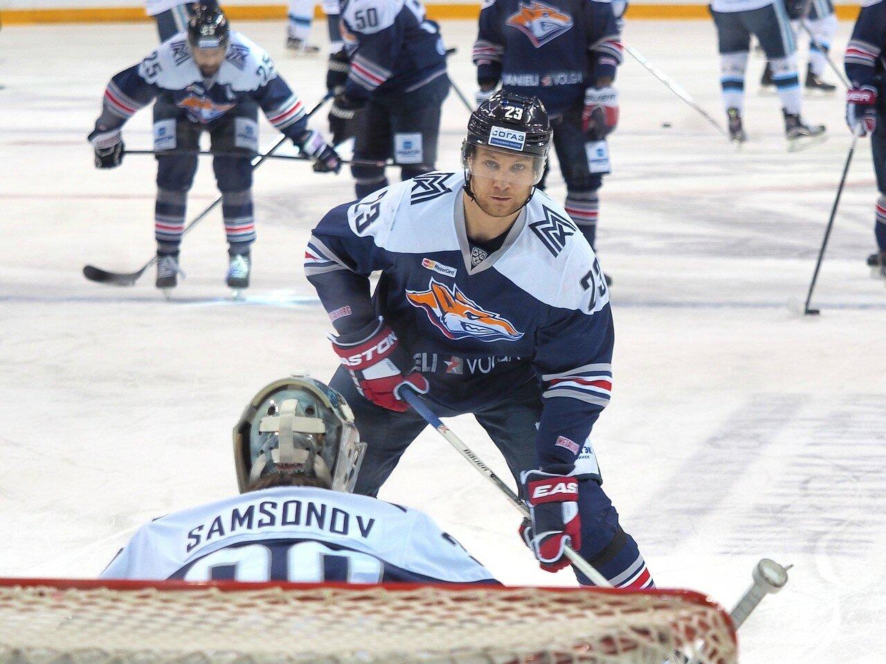 33Плей-офф 2016 Восток 1/2 Металлург - Сибирь 16.03.2016