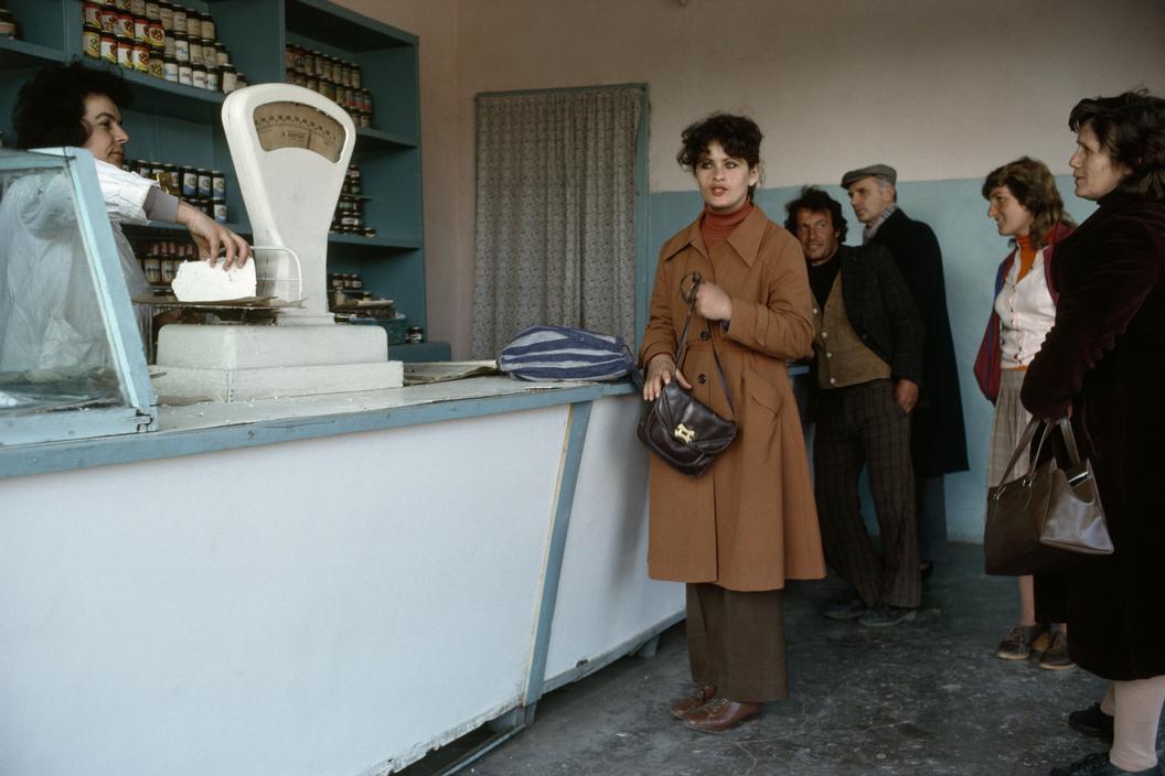 1990 Albania Shkoder. Dairy shop.jpg