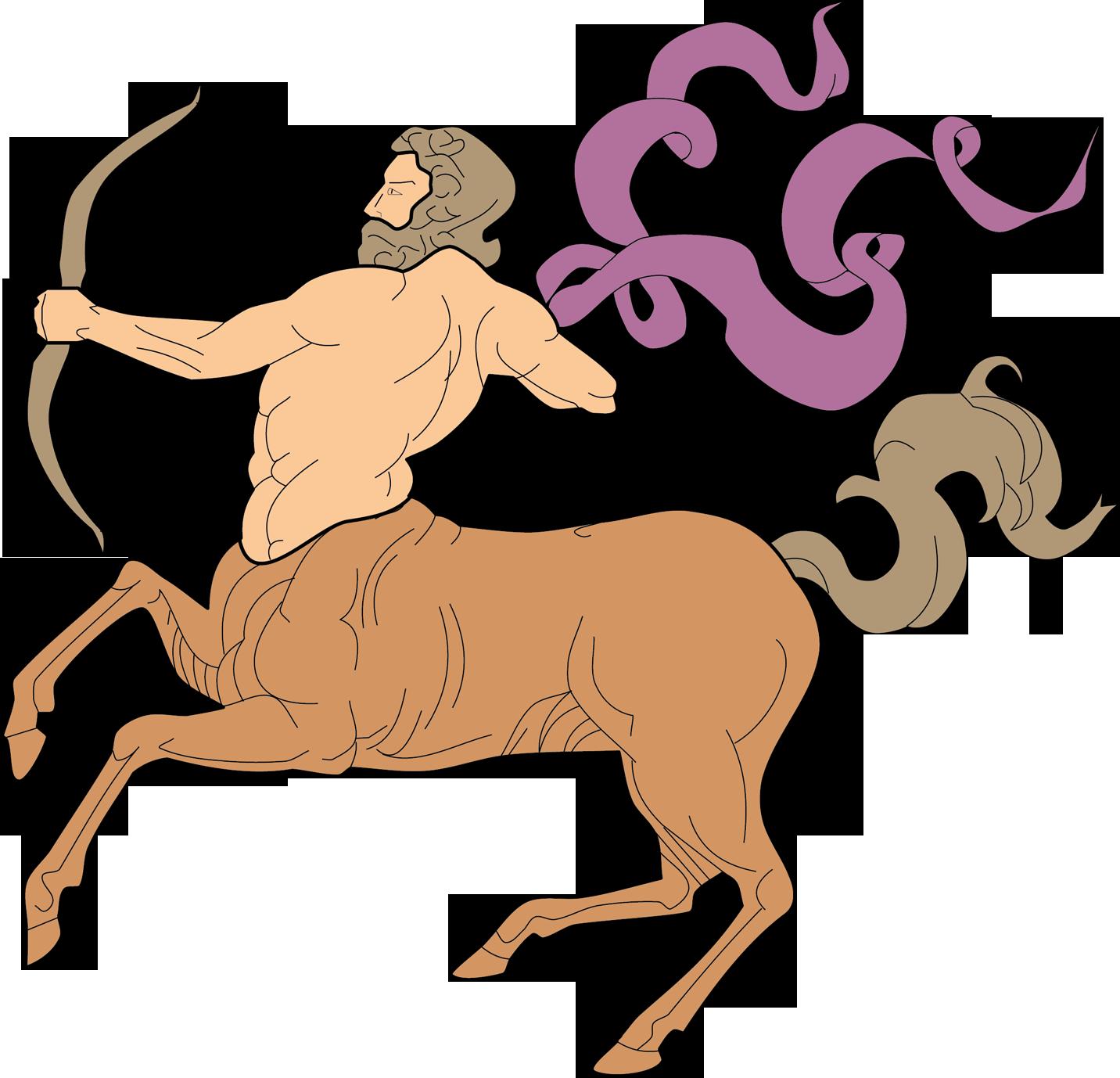 Знак зодиака стрелец как нарисовать