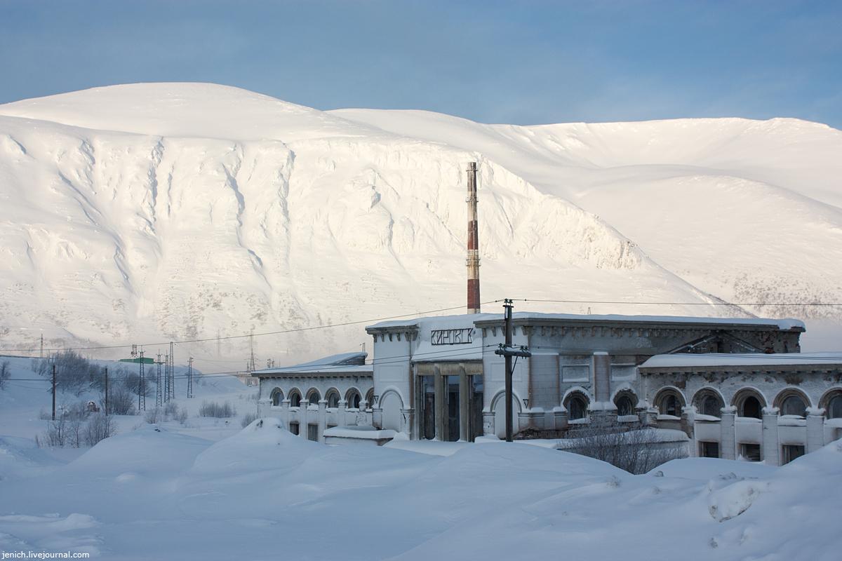 фото, фотография, Кировск, лавина, сход лавины