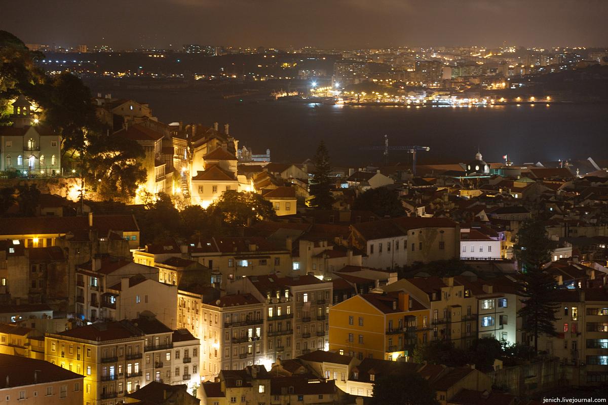 фото, фотография, ночной Лиссабон, ночь