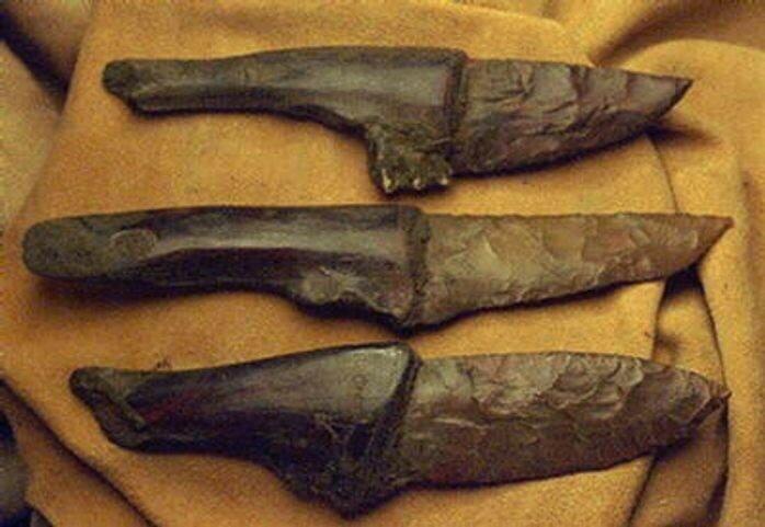 Каменный нож своими руками 49