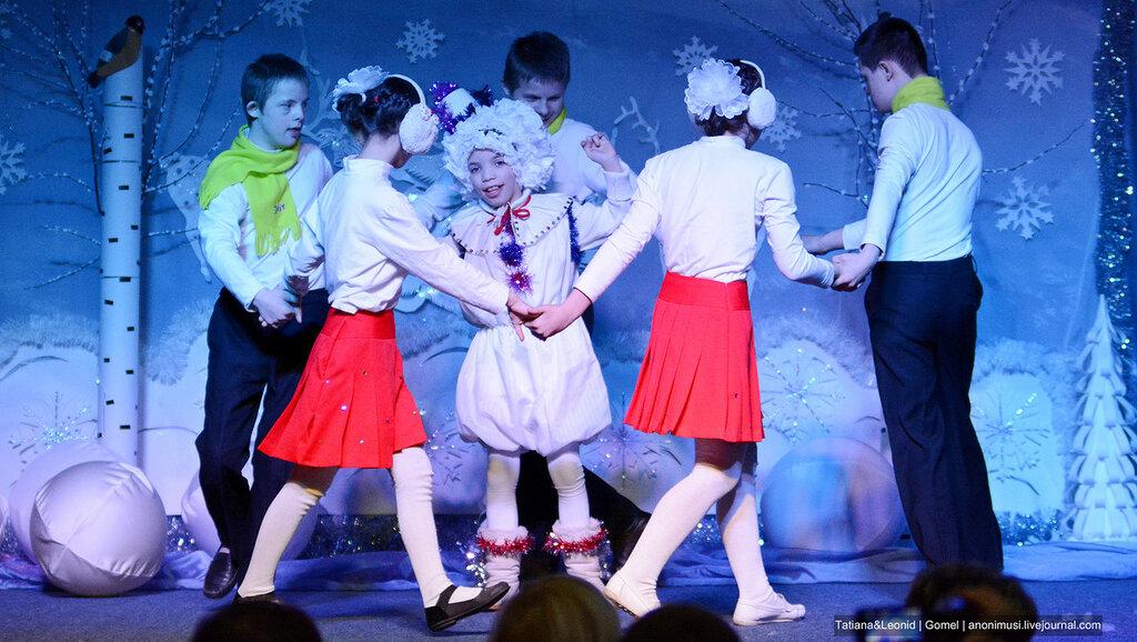 Новый год в Улуковской вспомогательной школе-интернате