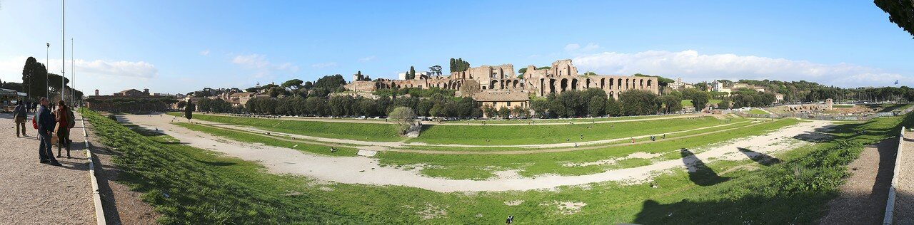 Рим. Большой Цирк (Circo Massimo)