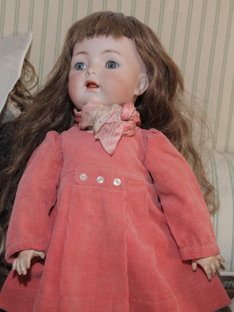 Антикварная немецкая кукла Kammer & Reinhardt, Simon & Halbig, mold 121