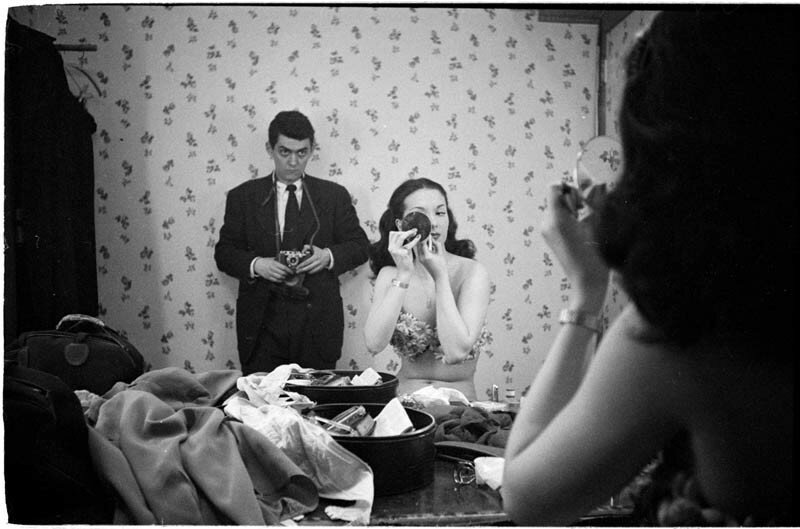 Автопортрет с танцовщицей Розмари Уильямс, 1948 год