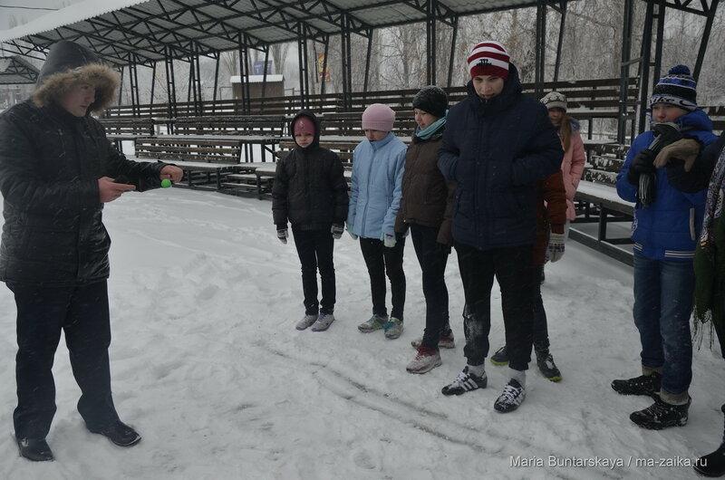 Трезвые забавы, Саратов, парк Победы, 06 января 2016 года