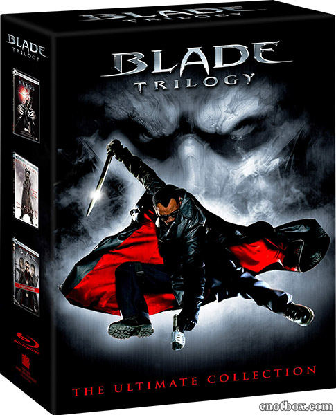 Блэйд: Трилогия / Blade: Trilogy (1998-2004/HDRip)