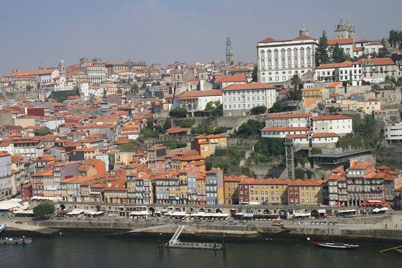Порто, река Дору (Porto, the Douro River)