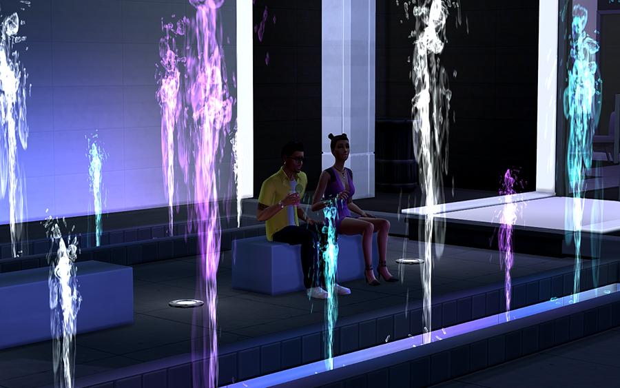 Night club Ombre