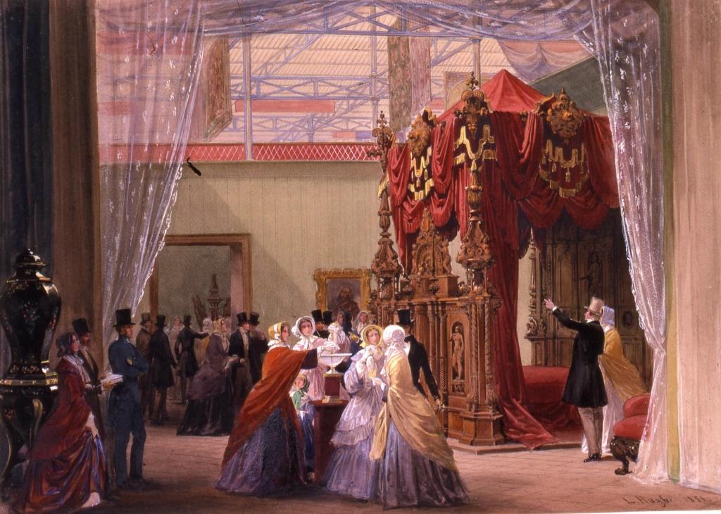Великая выставка: Австрия. 1 851