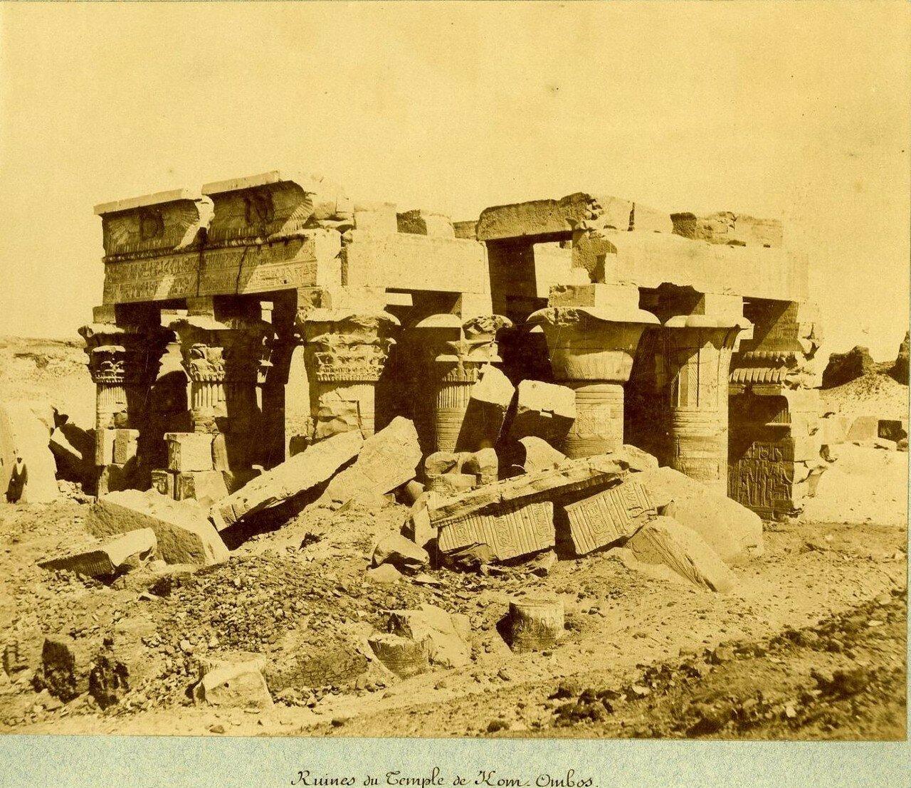 Храм Себека и Гора. 1889