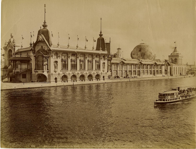 33. Вид дворца Лесного хозяйства с Сены