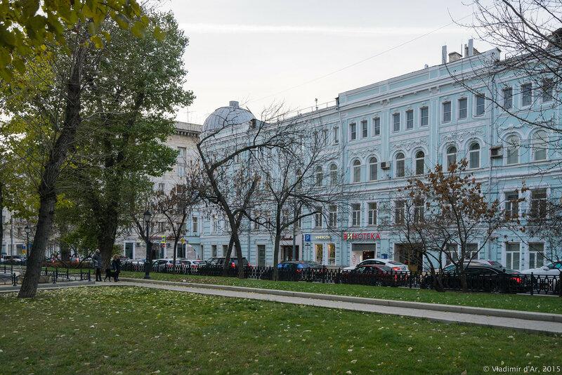 Дом Романова. Тверской бульвар, 7.