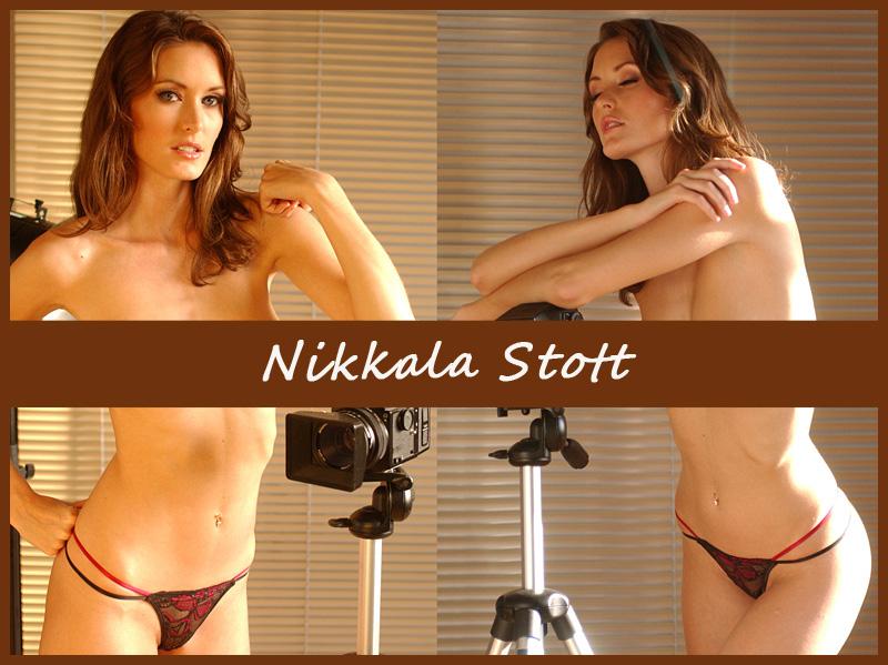 Британская модель Nikkala Stott
