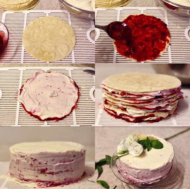 Торт Наполеон - пошаговый рецепт с фото #5.