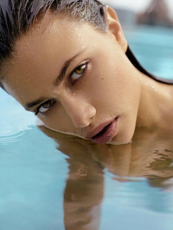 Yara Khmidan in Deep Skin photo shoot