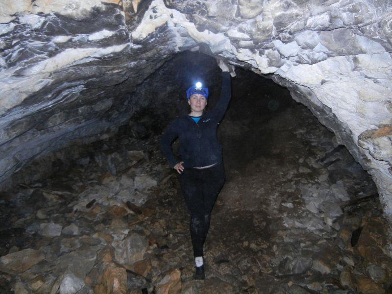 В пещере Сквозная (18.08.2015)