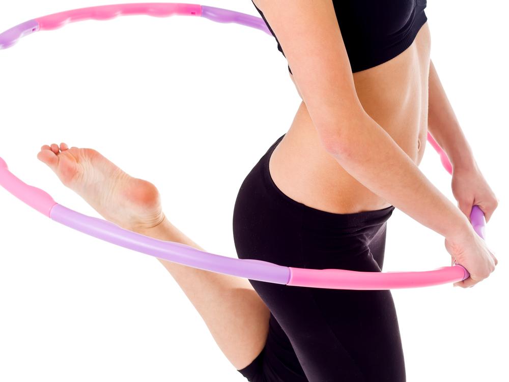 гимнастический обруч для похудения